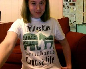 Political tee shirt2