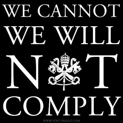 Will not comply religious freedom