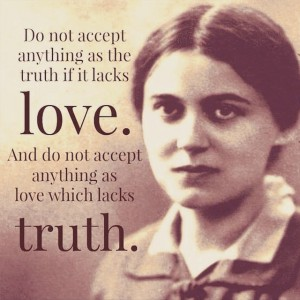 St Teresa Benedicta of the Cross (Edith Stein)